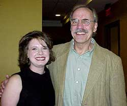 Krystal Jenkins and John Maxwell, November, 2001