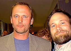 John Grisham and Mississippi author Brad Watson.